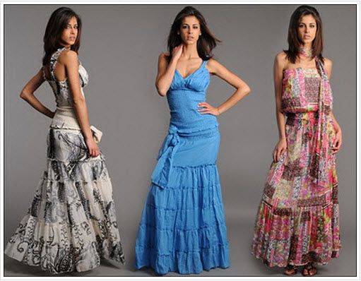 Short and Long Summer Dresses