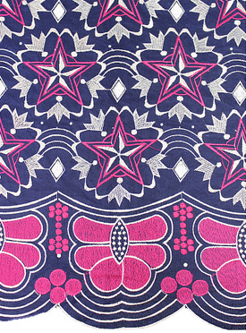 This African French Laces showcases the beauty and diversity of African fashions.