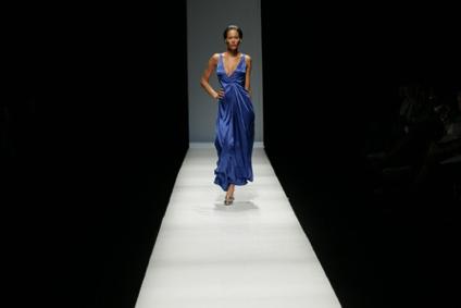 African fashion catwalk