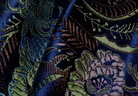 dyed-brocade