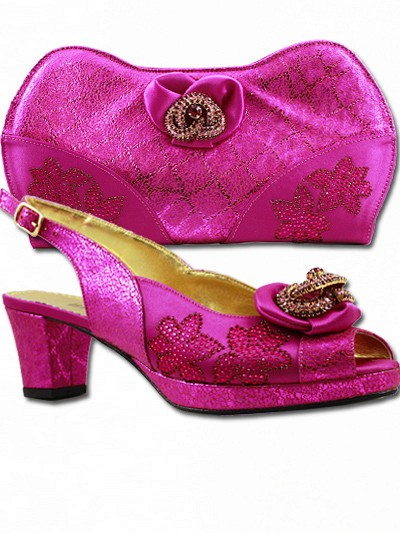 BIT1004 - Fuchsia Leather Bianca Italy