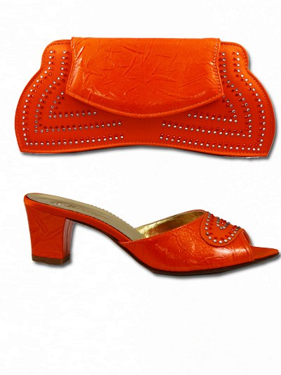 GPT327 - Orange Leather Giorgio Pantini