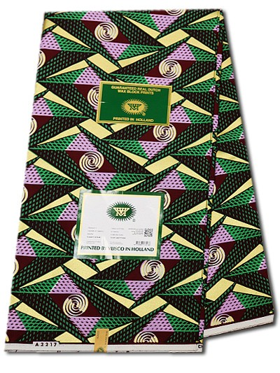 VEH253 - Vlisco Embellished Hollandais
