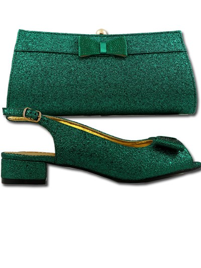 BLS182 - Green Leather Bellissimo