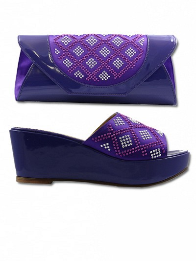 EDS1002 - Purple Enzo Diroma Sandals Sets