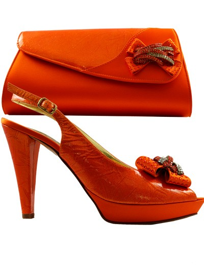 GPT409 - Orange Leather Giorgio Pantini