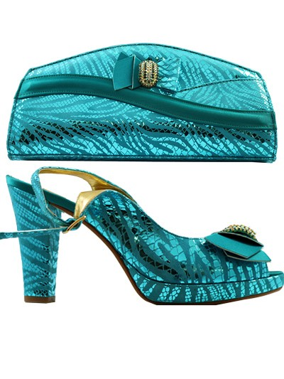 GPT446 - Leather Teal Giorgio Pantini