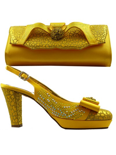 GPT470 - Leather Yellow Giorgio Pantini Closed Toe