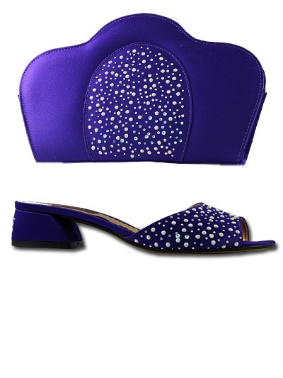 LCF537 - Purple Lucia Fabiani Sandals