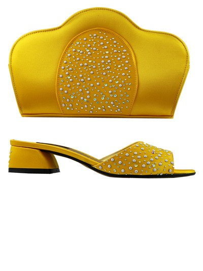 LCF541 - Yellow Lucia Fabiani Sandals