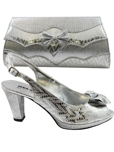 IDS1001 - Silver Leather Idea Shoes
