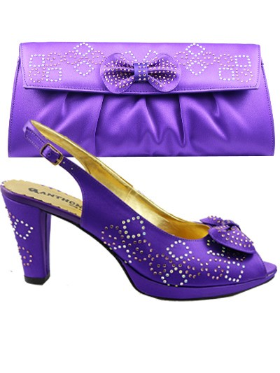 AYS1002 - Purple Anthony Shoes