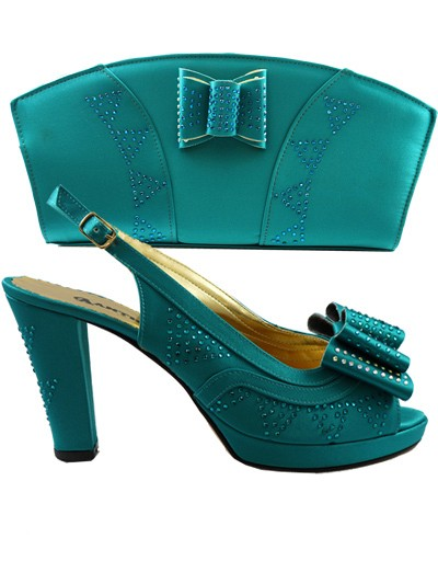 AYS1007 - Teal Anthony Shoes