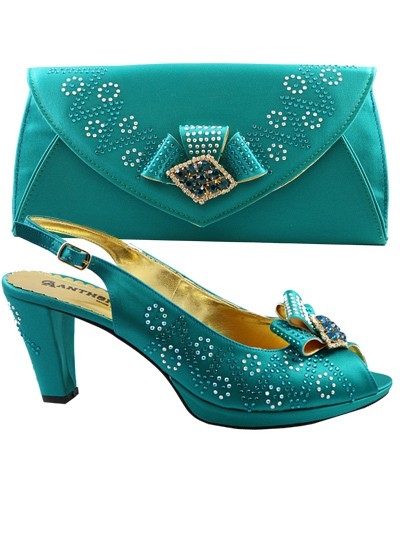 AYS1018 - Teal Anthony Shoes
