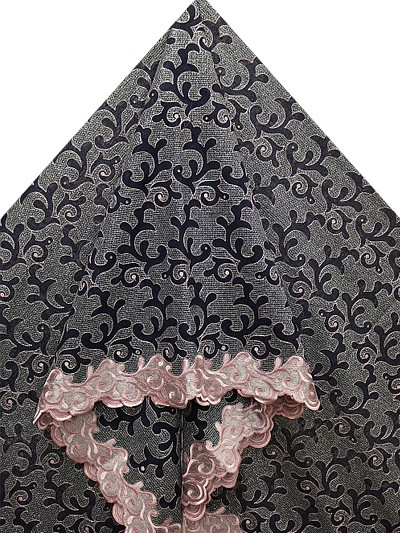 SLV492 - Big Perforated Voile Lace