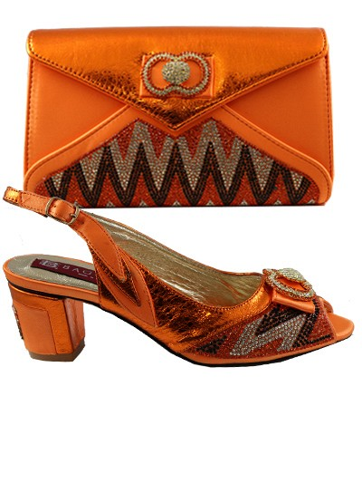 BAG917 - Orange Leather Baggio