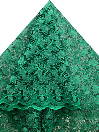 FRN266 - French Organza Lace with Pearls
