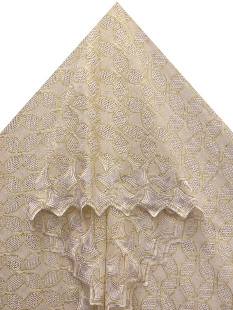 PVL135 - Big Perforated Voile Lace