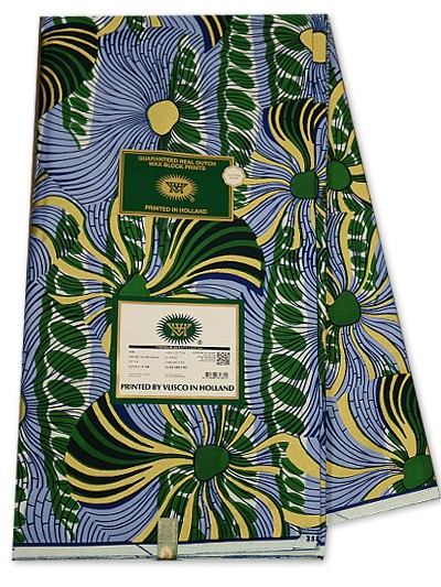 VSW108 - New Vlisco Silk Cotton Embellished Wax