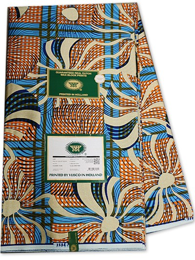 VSW113 - New Vlisco Silk Cotton Wax