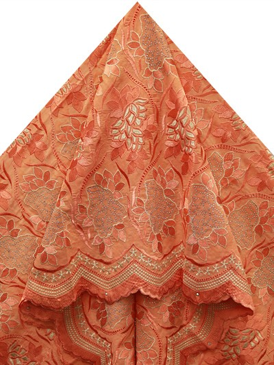 SLV516 - Big Perforated Voile Lace
