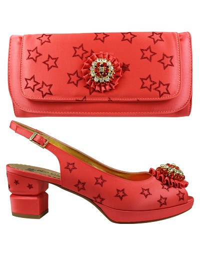 NFI317 - Coral  Nadia Ferri Shoes & Bag
