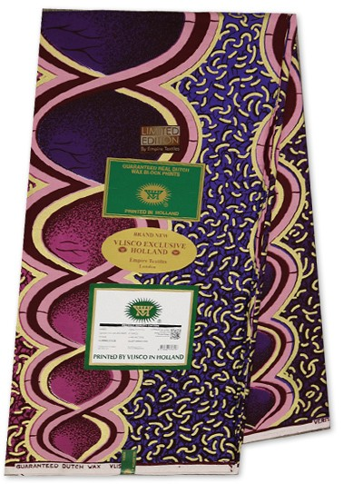 VEH452 -Vlisco Exclusive Embellished Hollandais