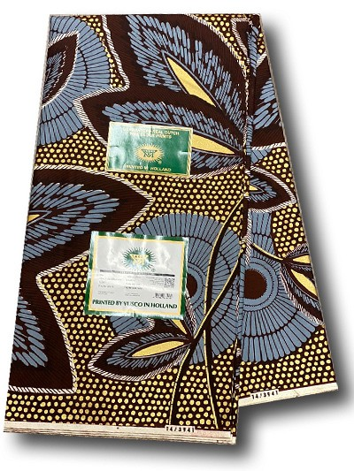 VEH472 -Vlisco Exclusive Embellished Hollandais