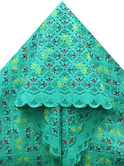 SLV538 - Big Perforated Voile Lace