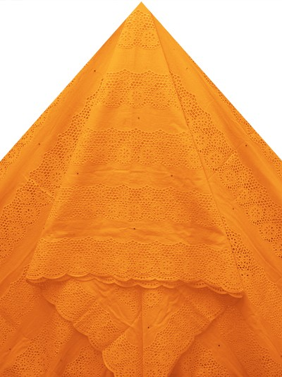 SLV540 - Big Perforated Voile Lace