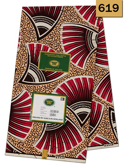 VBH619 - Vlisco Wax Hollandais