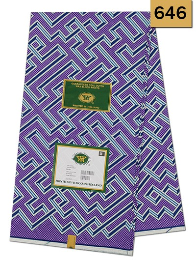 VBH646 - Vlisco Wax Hollandais