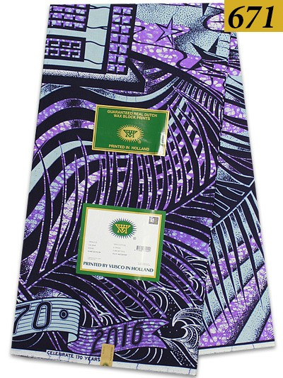 VBH671 - Vlisco Wax Hollandais