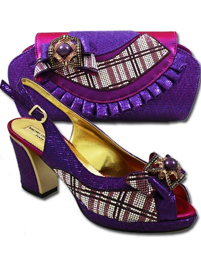 BGB856-  Purple2 Bruno Giordano Shoe